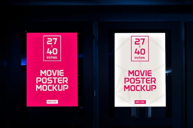 Plakaty Filmowe Makiety Premium Psd