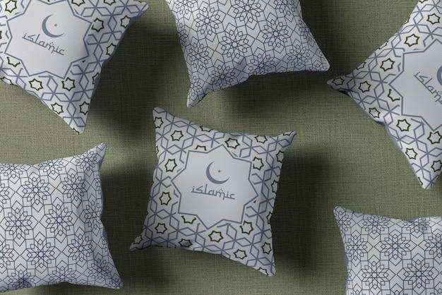 Płaski Układ Z Poduszkami Ramadan Darmowe Psd