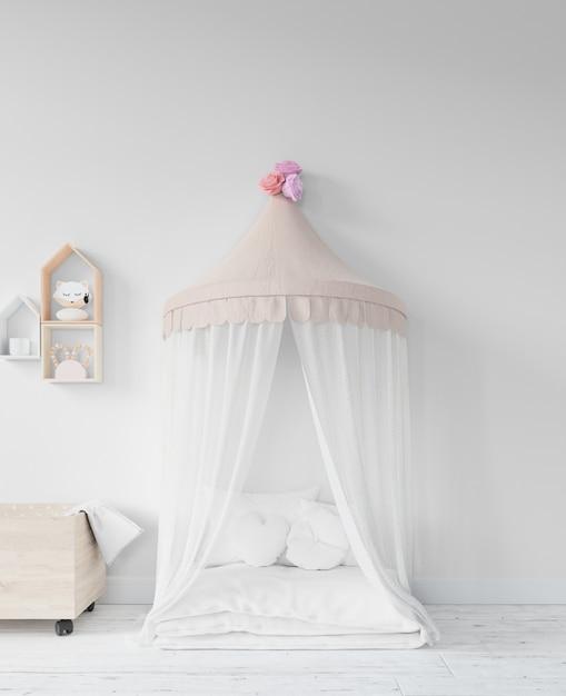 Pokój Dziecięcy Z łóżkiem I Zabawkami Darmowe Psd