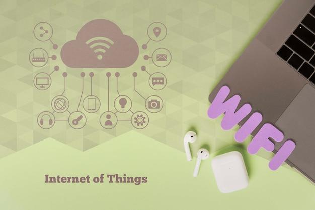 Połączenie Internetowe Wi-fi Dla Urządzeń Darmowe Psd