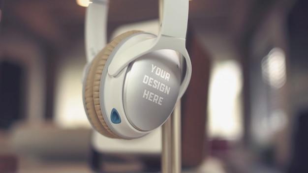 Powierzchnia Skorupy Słuchawek Premium Psd