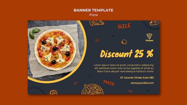 Poziomy Baner Do Pizzerii Darmowe Psd