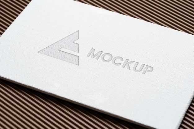 Projekt Logo Makiety Na Akcesoriach Papierniczych Darmowe Psd