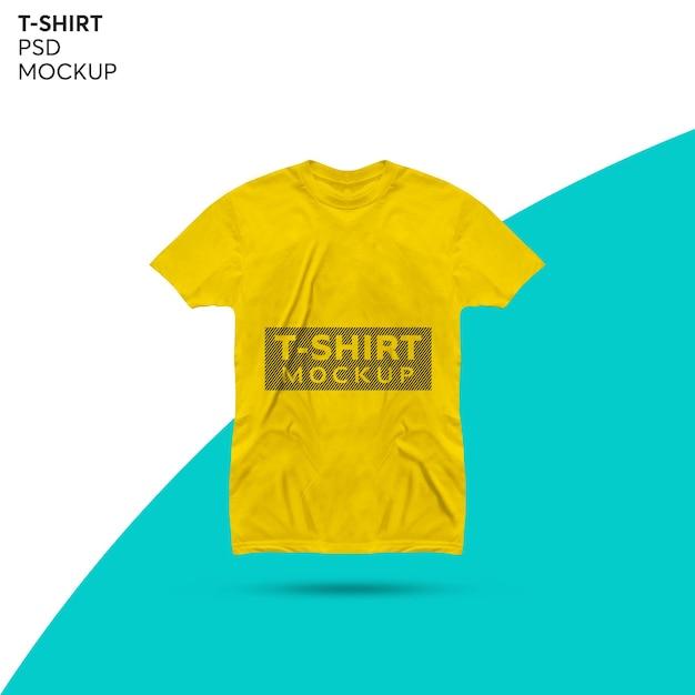 Projekt Makieta Koszulki Na Białym Tle Premium Psd