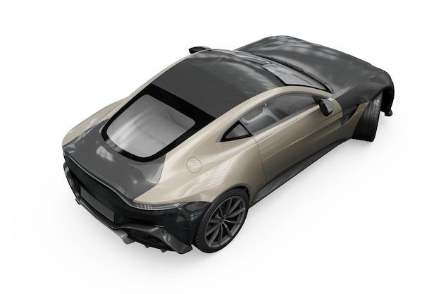 Projekt Makieta Samochodu Na Białym Tle Darmowe Psd