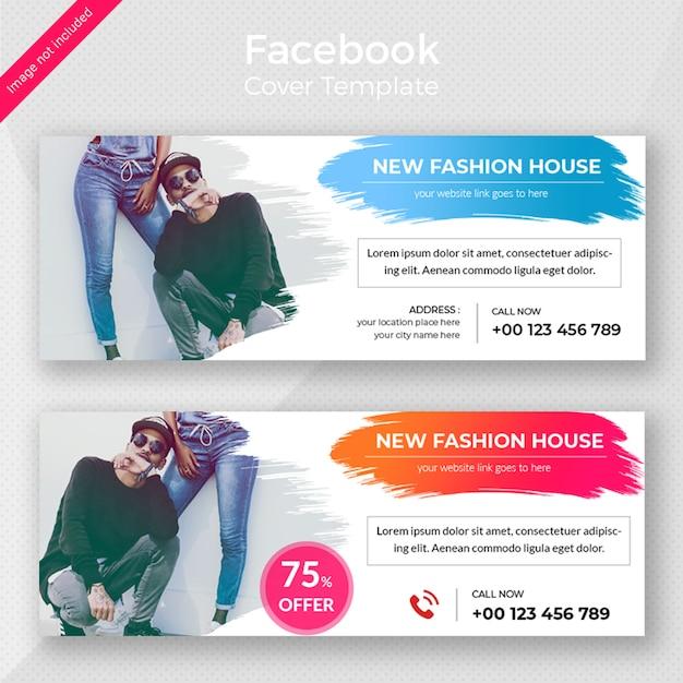 Projektowanie banerów internetowych mody Premium Psd