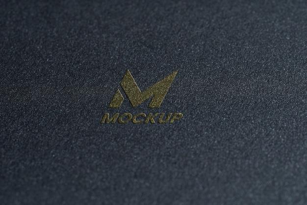 Projektowanie Logo Makiety Litery Premium Psd