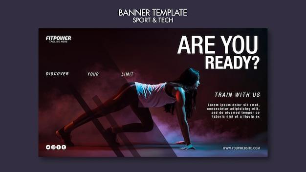 Promocja Fitness Online Kwadratowa Ulotka Darmowe Psd