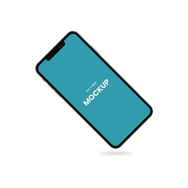 Prosta makieta telefonu komórkowego Premium Psd