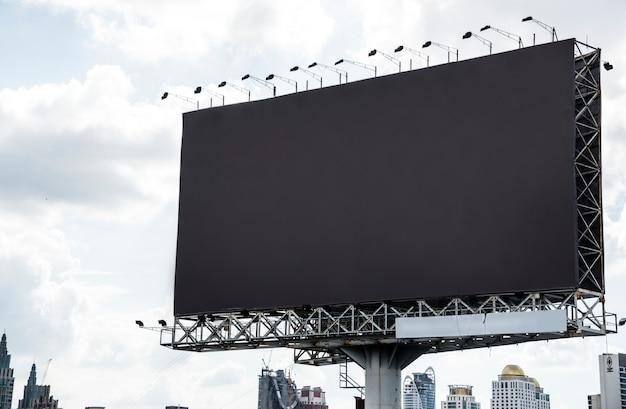Puste Billboard Makieta Darmowe Psd
