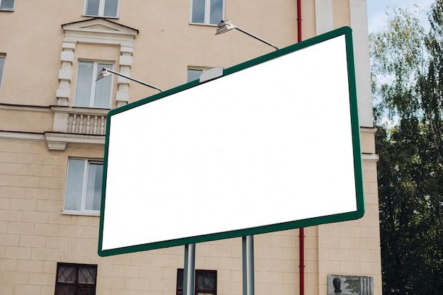 Pusty Billboard W Mieście Darmowe Psd