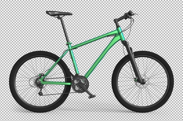 Rower 3d Na Białym Tle. Premium Psd