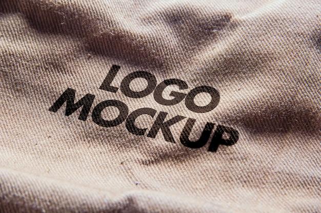 Scena makiety logo Premium Psd