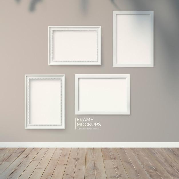 Ściana ram Premium Psd