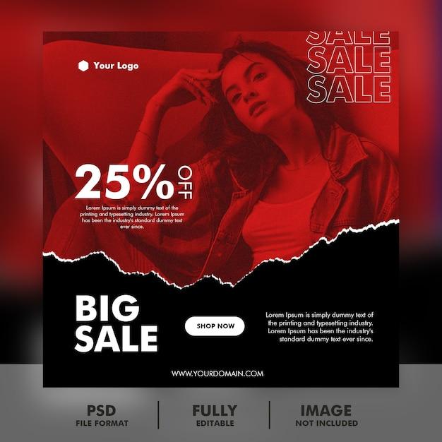 Specjalny Szablon Transparent Sprzedaż Premium Psd