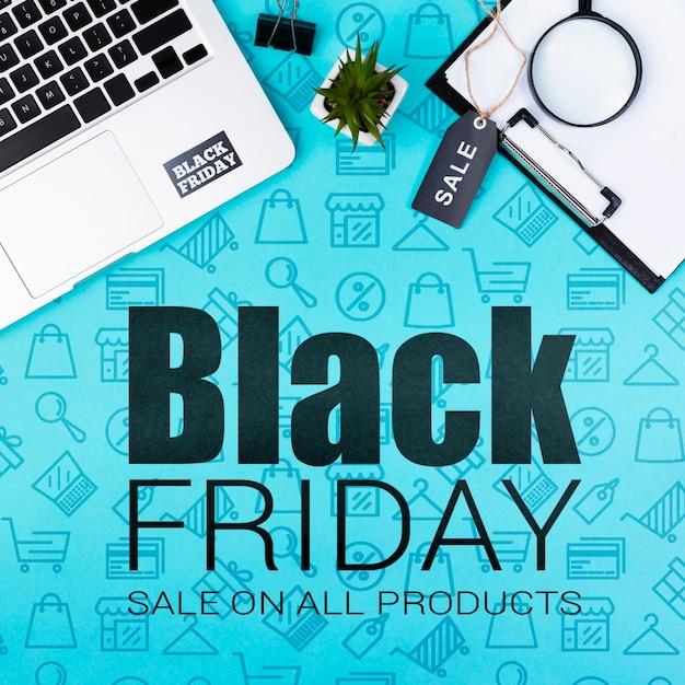 Sprzedaż Rozpoczyna Się Online W Czarny Piątek Darmowe Psd