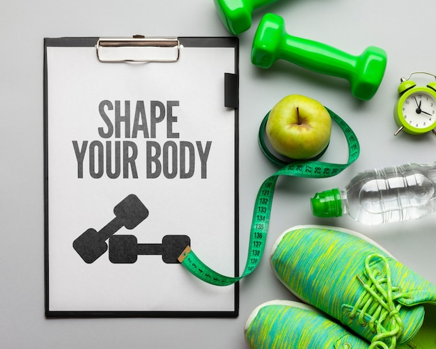Sprzęt Fitness I Zestaw Do Nawadniania Darmowe Psd