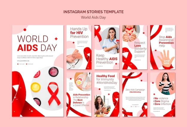 Światowe Historie Na Instagramie Premium Psd