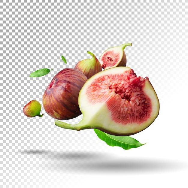Świeże Owoce Fig Na Białym Tle Premium Psd