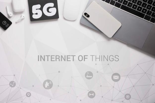 Sygnał Wi-fi Dla Połączenia Wi-fi 5 G Darmowe Psd