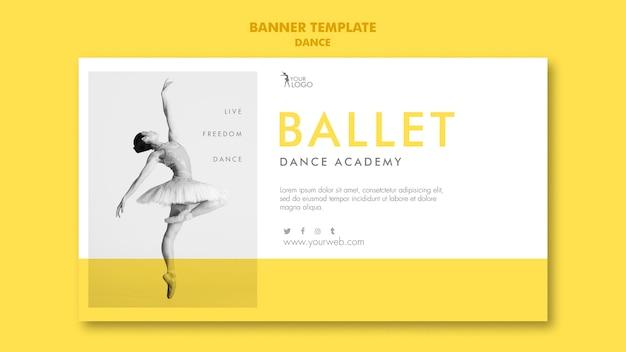 Szablon Akademii Tańca Transparent Darmowe Psd