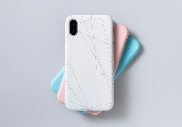 Szablon makiety ekranu telefonu komórkowego premium Darmowe Psd