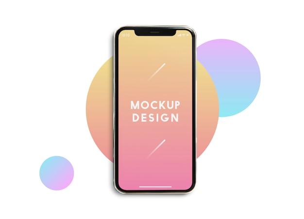 Szablon Makiety Premium Telefonu Komórkowego Darmowe Psd