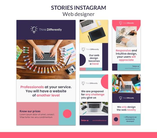 Szablon Opowiadań Na Instagramie Premium Psd