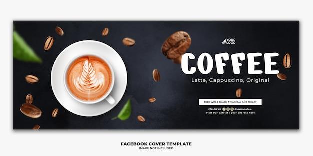 Szablon Posta Na Facebooku Specjalne Menu żywności Napój Kawa Premium Psd