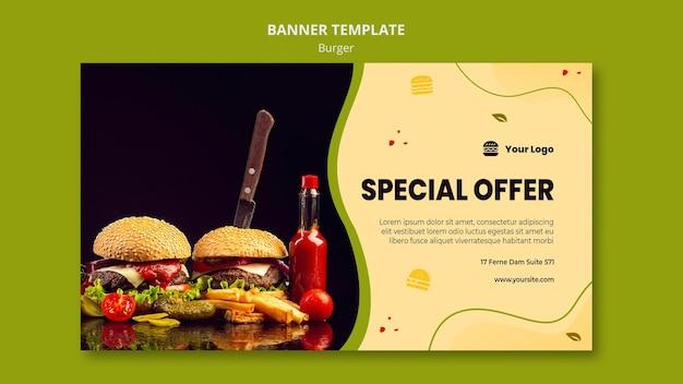 Szablon Transparent Burger Darmowe Psd