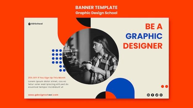 Szablon Transparent Dla Szkoły Projektowania Graficznego Darmowe Psd