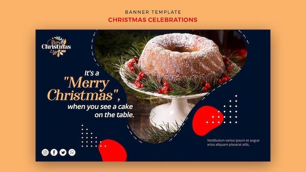 Szablon Transparent Dla Tradycyjnych świątecznych Deserów Darmowe Psd