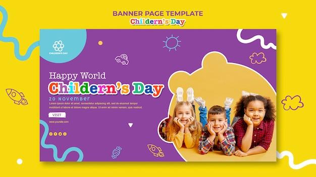 Szablon Transparent Dzień Dziecka Darmowe Psd