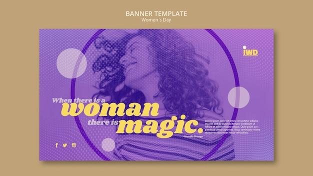 Szablon Transparent Dzień Kobiet Darmowe Psd
