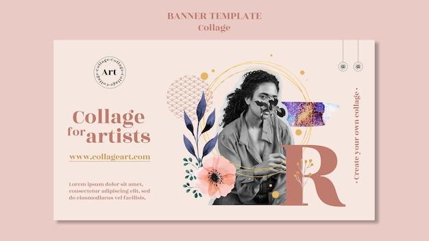 Szablon Transparent Kolaż Dla Artystów Darmowe Psd