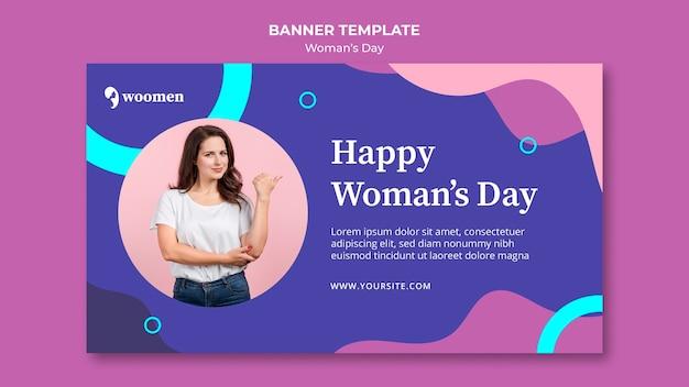 Szablon Transparent Kolorowy Dzień Kobiet Darmowe Psd
