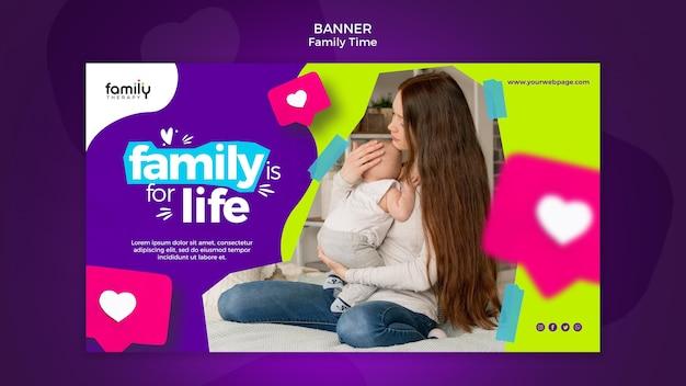 Szablon Transparent Koncepcja Czasu Rodzinnego Darmowe Psd