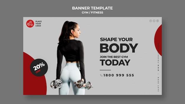 Szablon Transparent Koncepcja Fitness Darmowe Psd