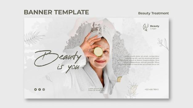 Szablon Transparent Koncepcja Zabiegów Kosmetycznych Darmowe Psd