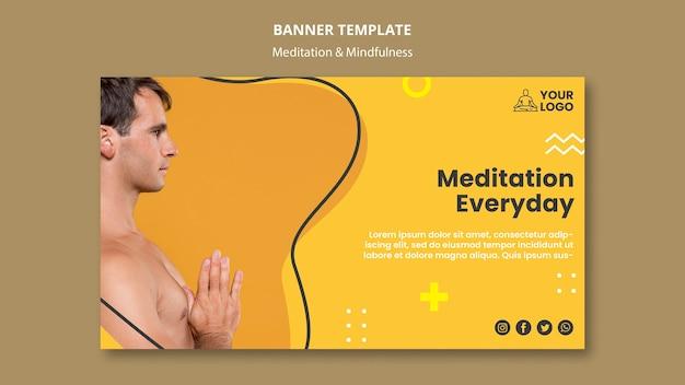Szablon Transparent Medytacji I Uważności Darmowe Psd