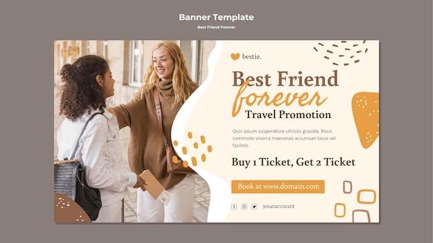 Szablon Transparent Najlepszych Przyjaciół Na Zawsze Premium Psd