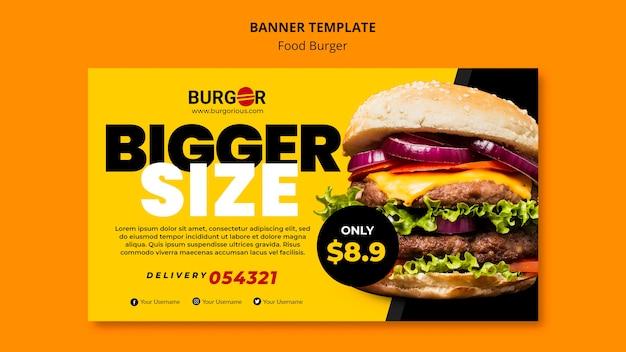 Szablon Transparent Oferta Specjalna Burger Darmowe Psd