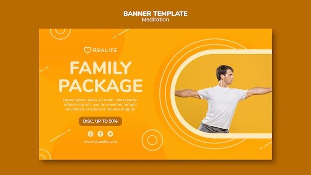 Szablon Transparent Pakiet Rodzinny Medytacji Darmowe Psd