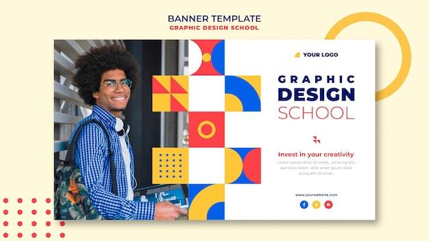 Szablon Transparent Projekt Graficzny Szkoły Darmowe Psd