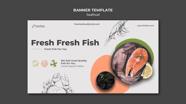 Szablon Transparent Restauracja Z Owocami Morza Darmowe Psd