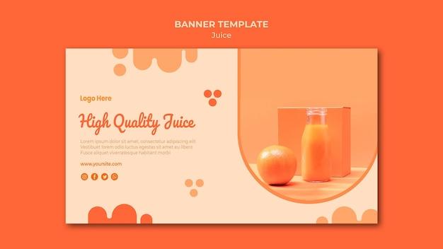 Szablon Transparent Sok Pomarańczowy Darmowe Psd