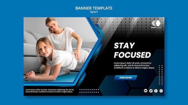 Szablon Transparent Sportowy Premium Psd