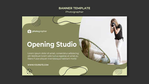 Szablon Transparent Studio Fotograf Darmowe Psd