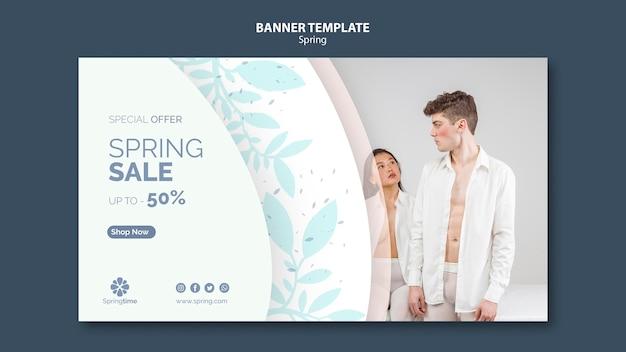 Szablon Transparent Wiosna Ze Sprzedaży Darmowe Psd