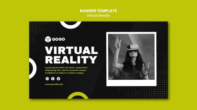 Szablon Transparent Wirtualnej Rzeczywistości Darmowe Psd